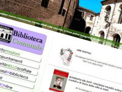 La schermata del sito della Biblioteca Comunale Antonelliana di Senigallia, sezione libri digitali