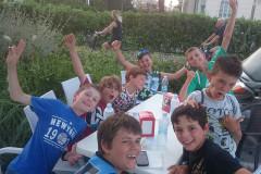 I partecipanti della squadra Cadetti Oprimist Marotta-Senigallia al XV Meeting giovanile di Cervia