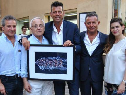 Il Comune di Senigallia si è aggiudicato la foto di Massimo Sestini all'asta per la legalità di Libera