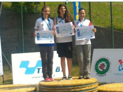 Francesca Cozzolino conquista un meritatissimo terzo posto