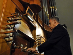 """Ruggero Livieri, organista veneto, ha inaugurato l'edizione 2016 del Festival Organistico Internazionale """"Città di Senigallia"""""""