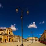 Piazza Garibaldi a Senigallia nella foto di Franco Poggio