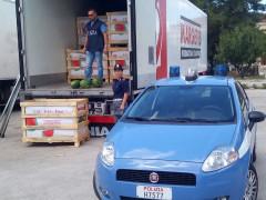 Controlli Polizia al porto di Ancona