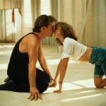 "Una scena del film ""Dirty dancing"""