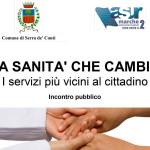 La sanità che cambia: incontro a Serra de' Conti