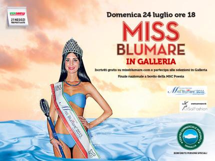 Miss Blumare al Centro Commerciale Ipersimply Senigallia
