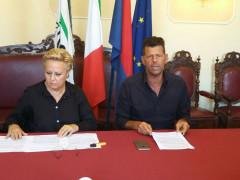 Maurizio Mangialardi e Silvana Amati