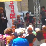 Claudio Sabelli Fioretti e Claudio di Biagio a Caterpillar AM