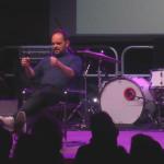 Paolo Labati sul palco nella serata del 6 luglio