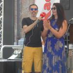 Filippo Solibello e la modella curvy Elisa d'Ospina
