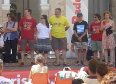 Gli ospiti sul palco del CaterRaduno 2016 di Senigallia