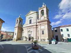 La chiesa di san Pietro apostolo, in via Umberto I, a Montemarciano