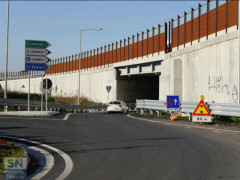 Il sottopasso che dalla frazione di Sant'Angelo conduce in via Capanna e quindi al centro di Senigallia