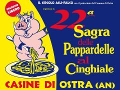 22a Sagra delle Pappardelle al Cinghiale a Casine di Ostra