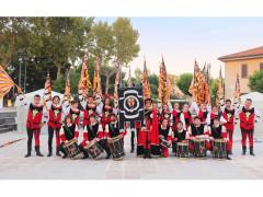 Il gruppo storico di sbandieratori e musici dell'Araba Fenice di Corinaldo