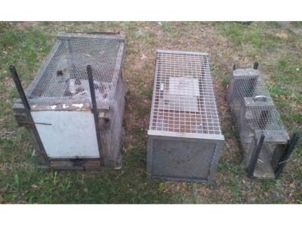 Le trappole per fauna selvatica sequestrate nella campagna di Senigallia dalle guardie zoofile e venatorie di Legambiente, Oipa e Wwf