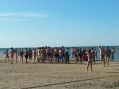 Malore in mare a Senigallia
