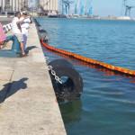 Sversamento di olio in mare