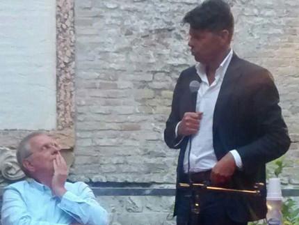 """Massimo Cirri e Maurizio Mangialardi al Festival """"Ventimilarighesottoimari in Giallo"""" di Senigallia"""