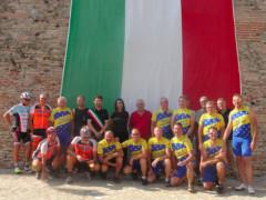 Ciclisti a Cartoceto dalla Germania