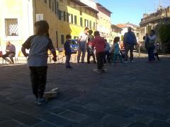 Festa in via Carducci a Senigallia per L'Allegra Brigata