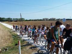 La biciclettata promossa dall'associazione Cesano Per a Senigallia