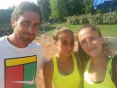 Danilo Quaranta con Elisa Mezzanotte e Aurora De Filippi