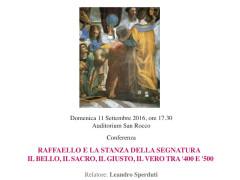 Conferenza di Leandro Sperduti