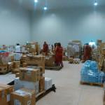Terremoto del 24 agosto: La Croce Rossa di Senigallia a Castel di Lama (AP), per la gestione del magazzino