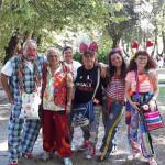 Terremoto del 24 agosto: la Croce Rossa di Senigallia ad Amandola con gli operatori del sorriso e i clown dottori