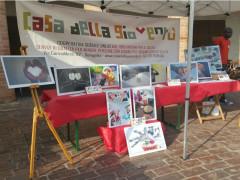 Casa della Gioventù-Mostra alla Festa dei popoli