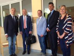 La visita del governatore Rotary alla San Gaudenzio di Senigallia