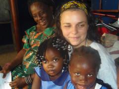 Monica Olioso in Sierra Leone