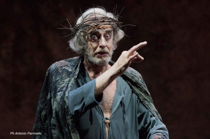 Mariano Rigillo nel Re Lear di Shakespeare
