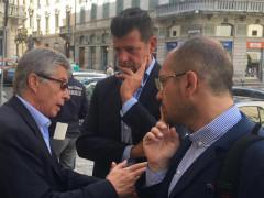Anci Marche: Il presidente Mangialardi incontra Curcio ed Errani