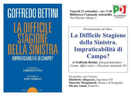 Presentazione libro Goffredo Bettini