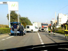 Incidente sulla SS16 Adriatica