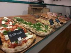 Le pizze della Pizzeria alla Pala Aculmò di Senigallia