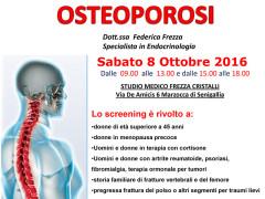 Screening prevenzione osteoporosi presso studio medico Frezza Cristalli di Marzocca di Senigallia