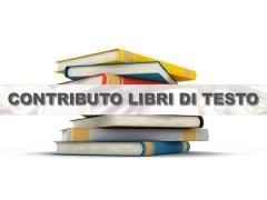 Locandina per i contributi all'acquisto dei libri di testo per la scuola