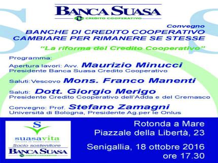 Banche di credito, conferenza sul tema