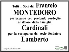 Morte di Lamberto Cardinali