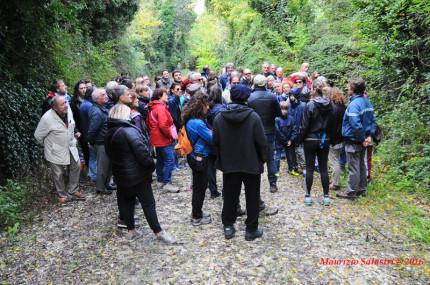 L'escursione all'oasi di san Gaudenzio a Senigallia
