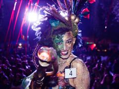 Halloween 2015, la vincitrice del concorso Miss Strega a Corinaldo: Stamira D'Amico