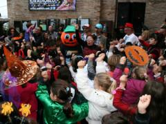 Bambini e Zucchino a Corinaldo per Halloween, la Festa delle Streghe