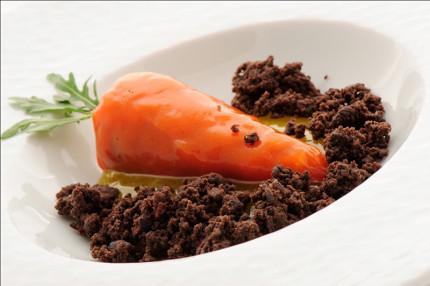 Pan di spagna alla carota - ricetta di Lucio Pompili