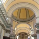 Terremoto: crepe nell'intonaco del Duomo di Senigallia