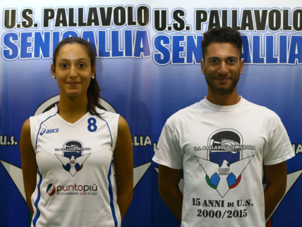 Giovanna Giancamilli e Giovanni Montanari - US Pallavolo Senigallia