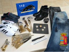 Furto, materiale sequestrato dalla Polizia