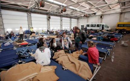 Migliaia gli sfollati nelle Marche